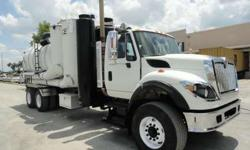 2010 International Workstar 7600 Ace Guzzler Wet/Dry Vacuum