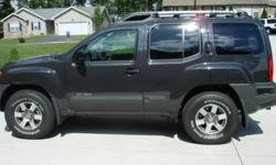 2010 Nissan Xterra off Road 4x4 Auto Color Night Armor