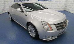 2011 Cadillac CTS 2dr Cpe Premium AWD