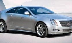 2011 Cadillac CTS Coupe 3.6 Coupe 2D