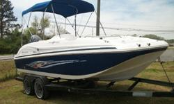 2011 Hurricane GS 188 Sundeck Sport with a 2011 Yamaha 115 4
