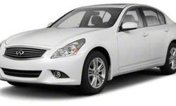 2011 INFINITI G37 Sedan AWD/4WD 4D x,SEE OPTIONS !!!