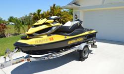 2011 SEADOO RXT iS 260 -WARRANTY AND TRAILER