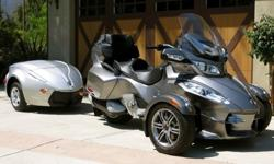 2012 Can Am Spyder RT-S Low Miles
