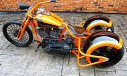 2012 Custom Built Motorcycles Bobber RODS & RIDES