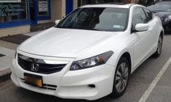 2012 Honda Accord Coupe Ex-L 11,600 Miles Only