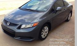 2012 Honda Civic LX 2DR (31K Miles) Financing Available