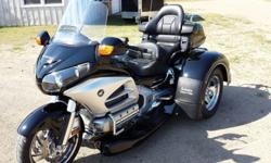 2012 Honda Goldwing Trike (New Motor Trike Kit) w/ IRS and