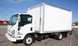 2012 Isuzu Npr Hd Box Truck with 47k. Miles