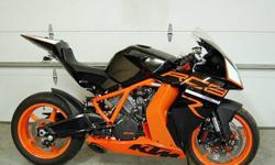 2012 Ktm Rc8r 1190cc Super Light and Fast