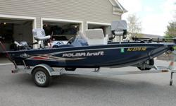 2012 Polar Kraft Bass `boat, trailer, and accessories`