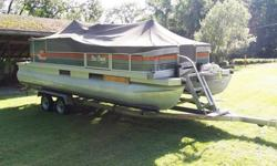 ? ? 2012 Suntracker Boat & trailer ? ?