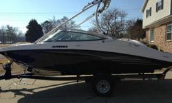 2012 Yamaha AR190 wakeboarding - jet boat LOW HOURS