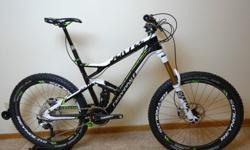 2013 Cannondale Jekyll Carbon 1 Mountain Bike! Medium