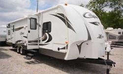 2013 Cougar Xlite Bunk room and Master Travel Trailer