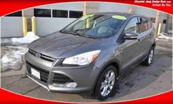 2013 Ford Escape SEL AWD LEATHER FACTORY WARRANTY