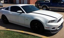 2013 Ford Mustang with Low Miles & Aftermarkets Included