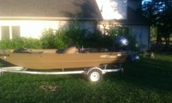 2013 G3 1860SC Jon Boat with trailer