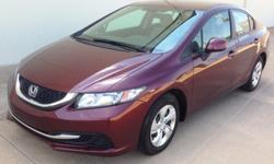 2013 Honda Civic LX Only 2K Miles> Financing Available