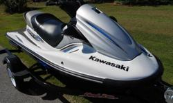 2013 Kawasaki Stx-15f with Factory Warranty