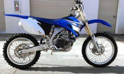 2013 Suzuki RM-Z Z250 RMZ 250 very low hrs. barely ridden