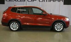 2014 BMW X3 xDRIVE AWD 4DR,1 OWNER LEXUS TRADE