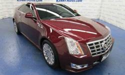 2014 Cadillac CTS 2dr Cpe Premium AWD