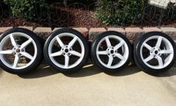 2014 Corvette Stingray Wheels and Tires