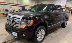 2014 Ford F-150 4WD SuperCrew 145 Platinum