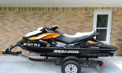 2014 Sea Doo GTR 215 w/Trailer
