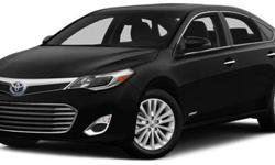 2014 Toyota Avalon Hybrid 4dr Sdn Limited