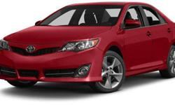 2014 Toyota Camry 4dr Sdn I4 Auto LE