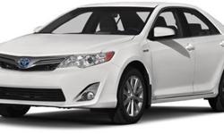 2014 Toyota Camry Hybrid 4dr Sdn LE
