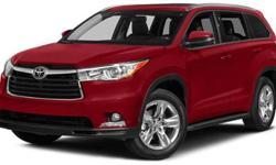 2014 Toyota Highlander AWD 4dr V6 Limited