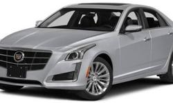 2015 Cadillac CTS Sedan Luxury RWD