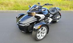 2015 Can-Am Spyder F3 6-Speed Manual (SM6)