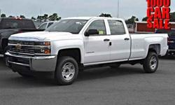 2015 Chevrolet Silverado 2500HD (pre-Sept 2014) Work Truck