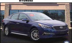 2015 Hyundai Sonata w/ Htd/Vent Seats and Pano Roof