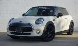 2015 MINI Cooper Hardtop CERTIFIED PRE OWNED w/Satellite