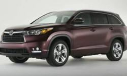 2015 Toyota Highlander AWD 4dr V6 Limited Platinum