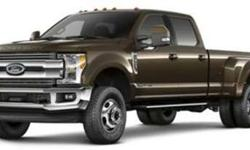 2017 Ford F-350 Super Duty Lariat 4WD Crew Cab 8' Box