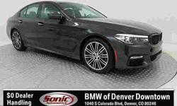 2018 BMW 5 Series xDrive