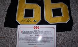 $205 Mario Lemieux Signed Autographed Jersey (Or Best Offer)