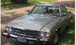 $20,000 Used 1980 Mercedes-Benz 450SL Roadster Convertible,
