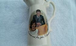 $20 1960's JFK and Jackie Pitcher