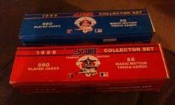 $20 1988 and 89 Score Baseball card set