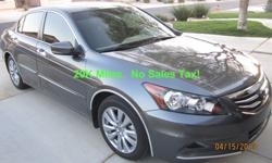 $20,500 2011 Honda Accord EX V6, 20K Miles