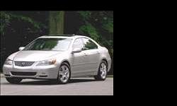 $20,888 Moving, Silver 2006 Acura RL Technology Package,