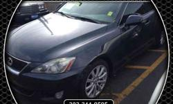 $20,990 Used 2008 Lexus IS for sale.