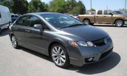 $20,995 2009 Honda Civic Si SPORTY FUEL EFFICIENT! Red sport
